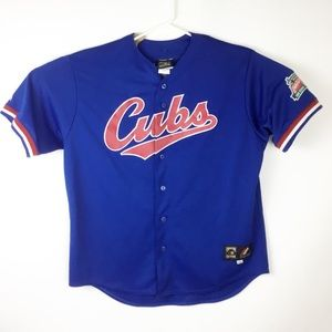 Chicago Cubs VTG Cooperstown Majestic Jersey
